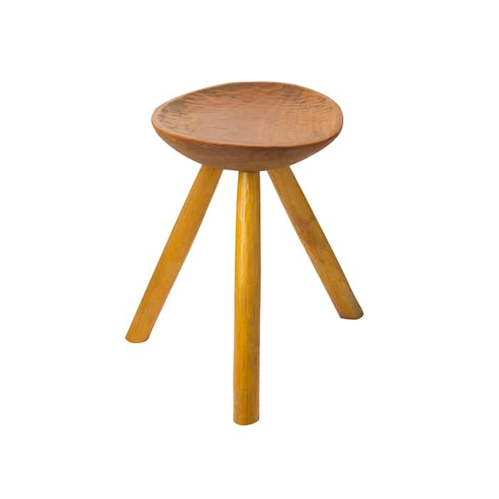 small wooden bar stool